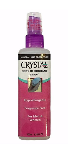 Crystal Body Deodorant Spray - 100ml